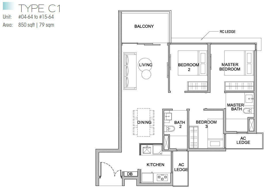 Kingsford Waterbay Floor Plans