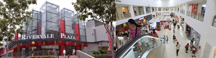 New Renovated Plaza at Upper Serangoon View Road